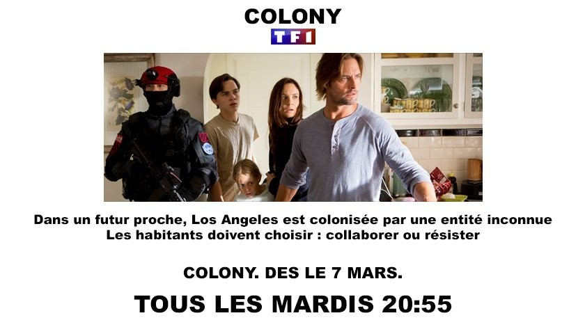 Colony saison 1 à partir du 7 mars sur TF1