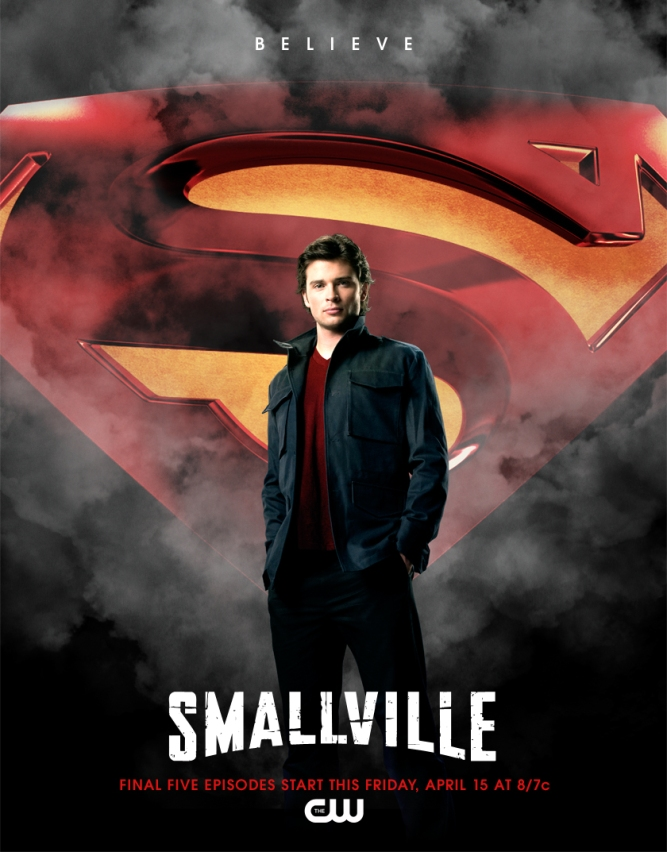Smallville affiche 5 derniers épisodes