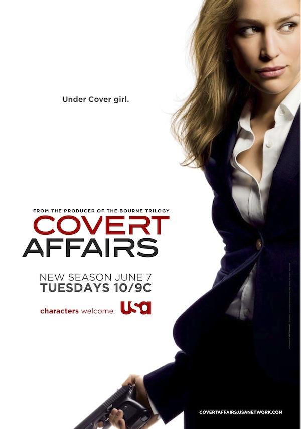 Covert Affairs saison 2
