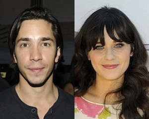 Justin Long et Zooey Deschanel
