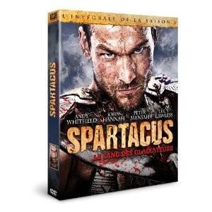Spartacus: le sang des gladiateurs DVD