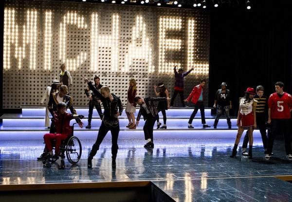 Glee - spécial Michael Jackson