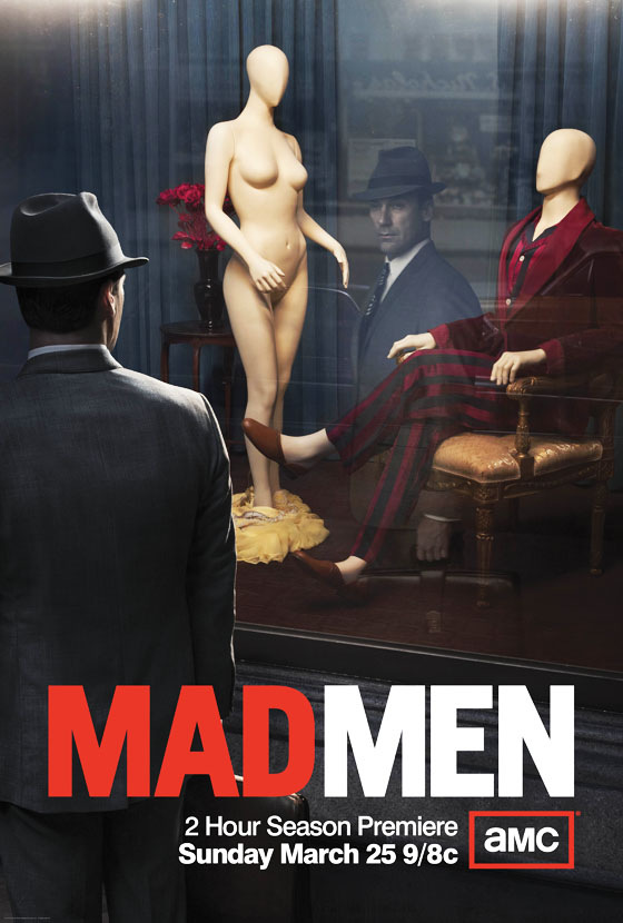 Mad Men affiche saison 5