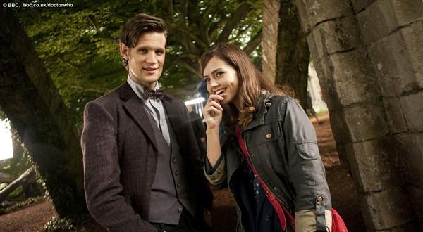 Doctor Who - Matt Smith & Jenna-Louise Coleman