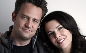 Matthew Perry et Lauren Graham