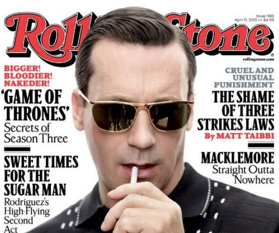 Jon Hamm Rolling Stone