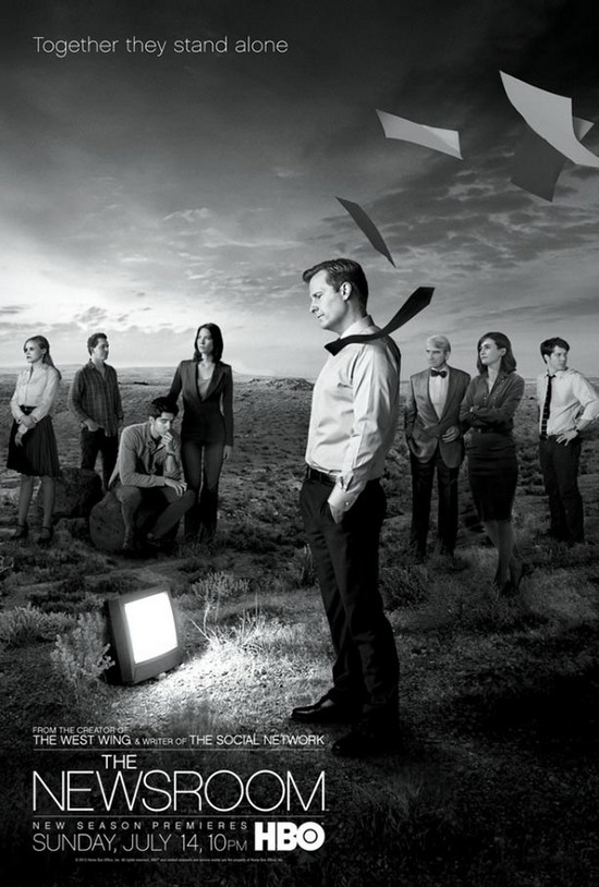 The Newsroom affiche saison 2
