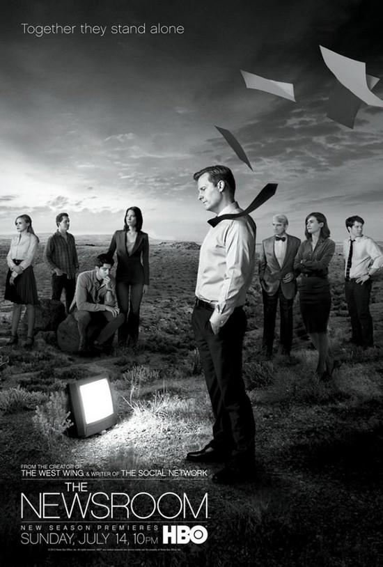 The Newsroom affiche saison 2