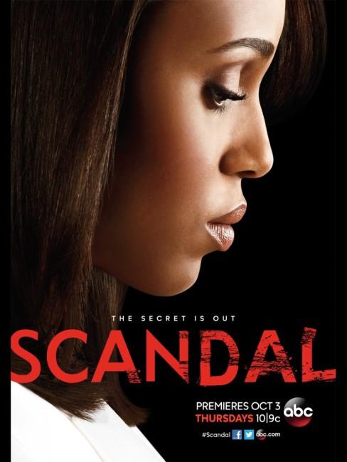 Scandal season 3 poster