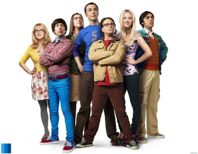 The Big Bang Theory - season 7 cast