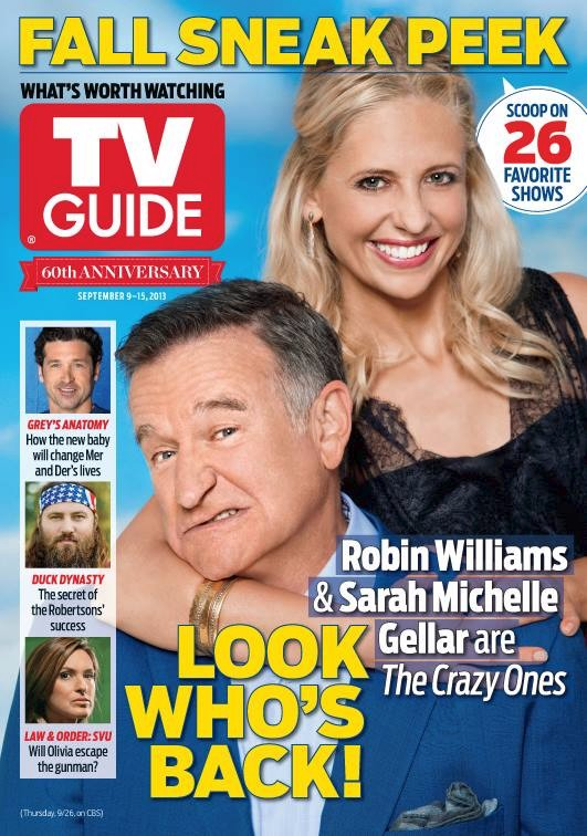 The Crazy Ones TV Guide
