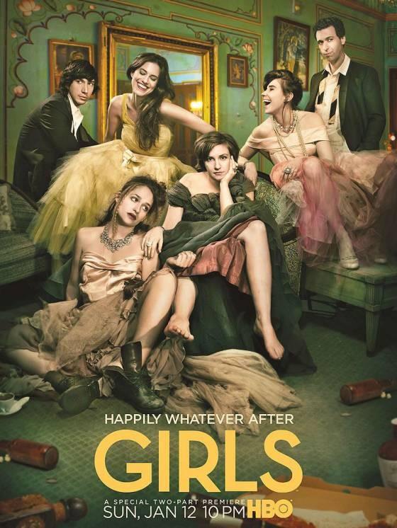 Girls saison 3 affiche promo