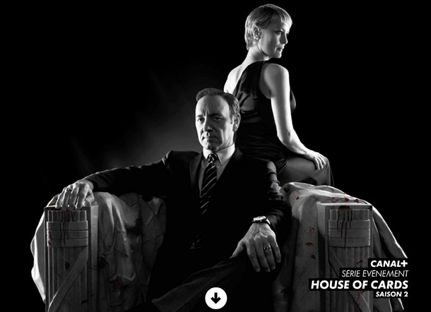 house of cards saison 2 canal