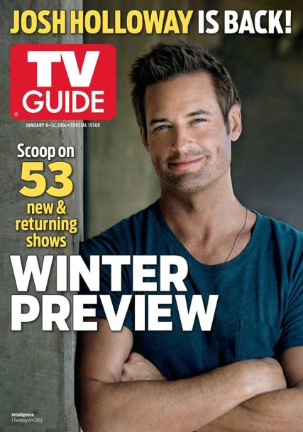 Josh Holloway TV Guide cover winter preview