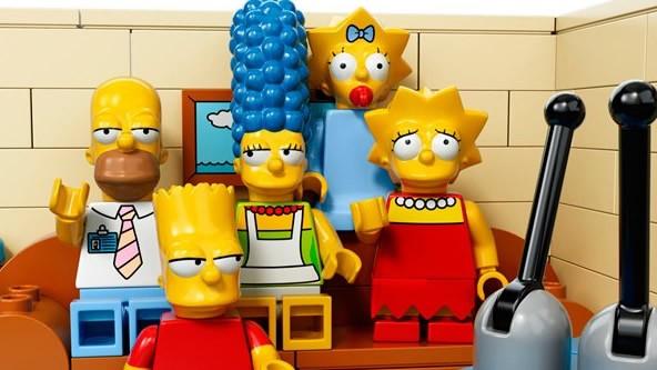 Les Simpson LEGO