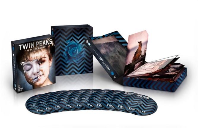 Le coffret Blu-ray de Twin Peaks