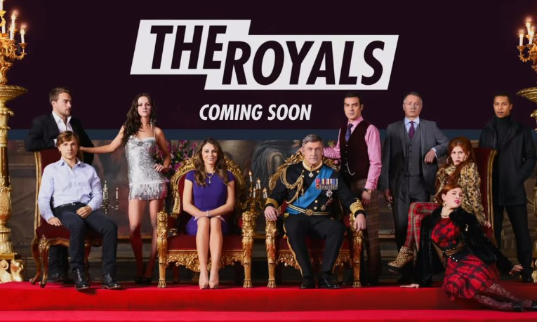 Premier trailer de The Royals, la série de E!