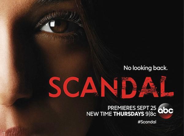 Scandal : l'affiche promo de la saison 4