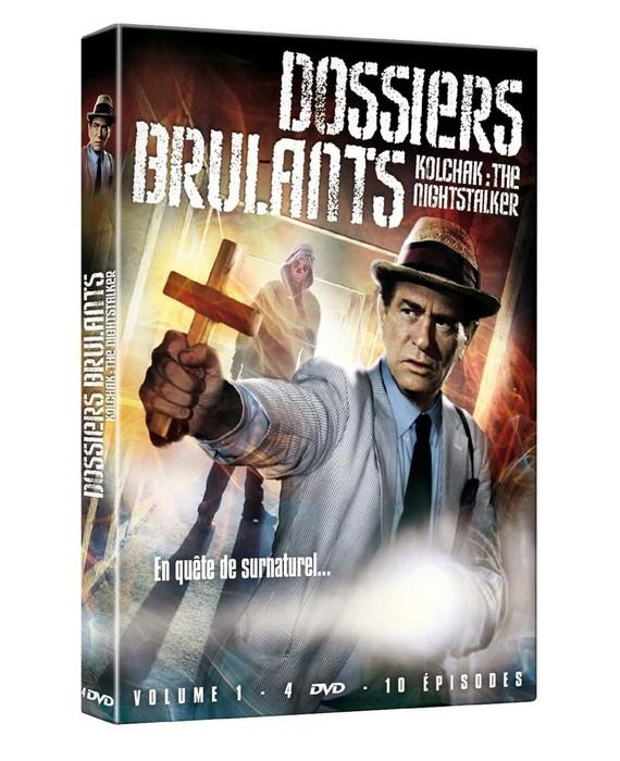 Dossiers brûlants DVD volume 1