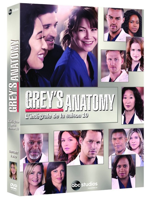 Grey's Anatomy DVD saison 10