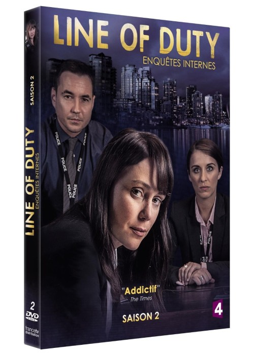 Line of Duty DVD saison 2