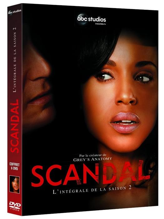Scandal DVD saison 2