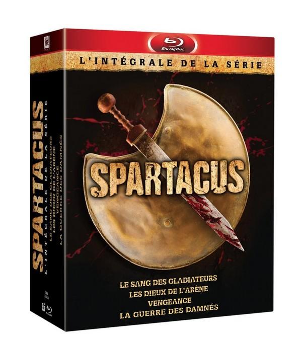 Spartacus intégrale Blu-ray