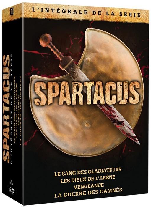 Spartacus intégrale DVD