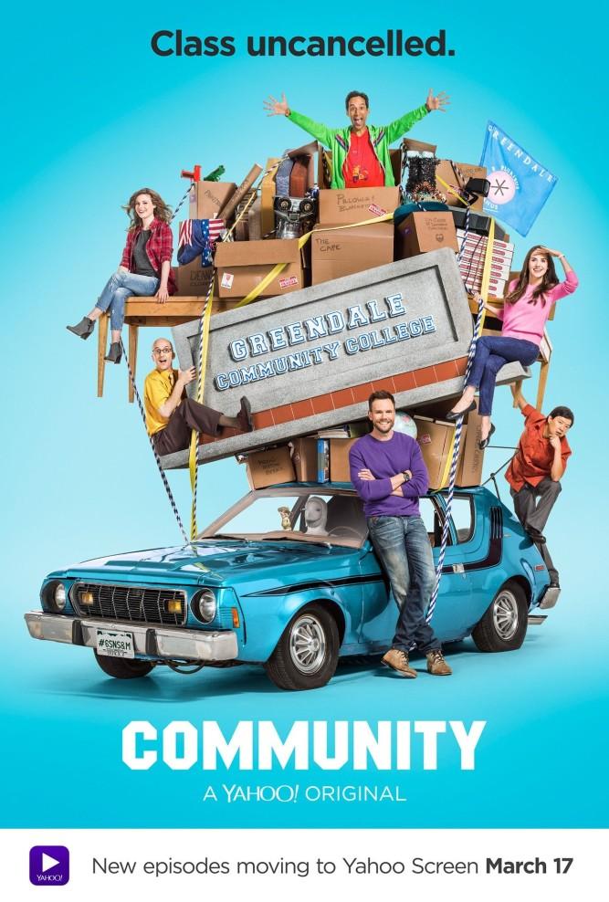 Community saison 6 affiche