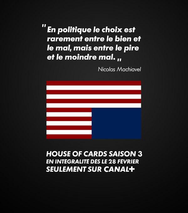 House of Cards saison 3 France