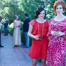 Mad Men - Elizabeth Moss et Christina Hendricks