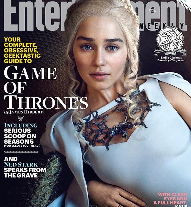 EW - Game of Thrones - Emilia Clarke