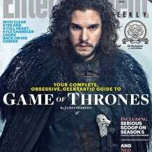 EW - Game of Thrones - Kit Harington