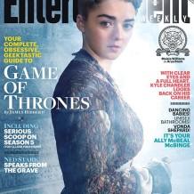 EW - Game of Thrones - Maisie Williams