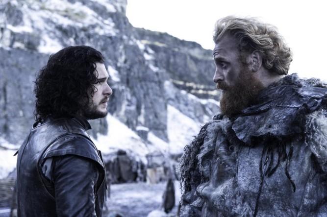 Game of Thrones - Jon Snow et Tormund Giantsbane