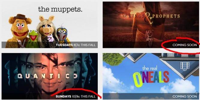 Capture écran site ABC