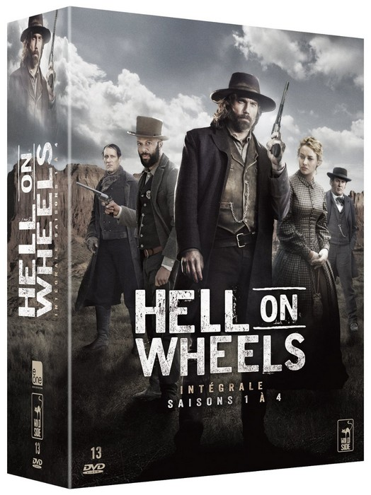 Hell on Wheels saisons 1-4