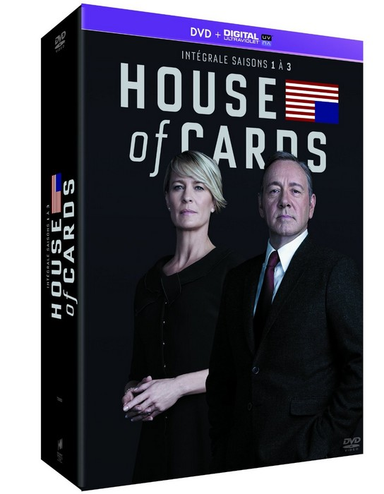 House of Cards saisons 1-3