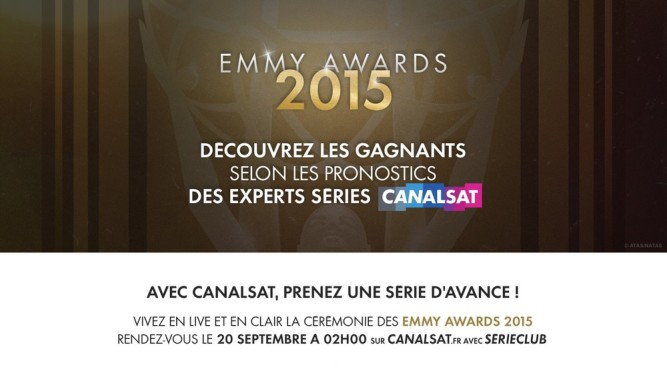 Emmy Awards 2015 Série Club