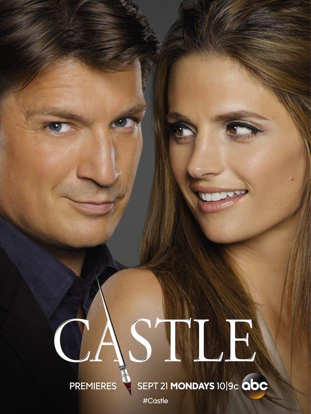 Castle saison 8 poster