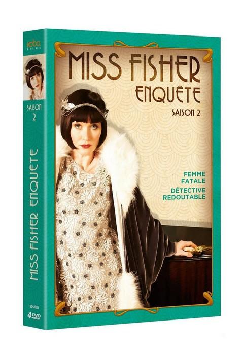 Miss Fisher enquête saison 2