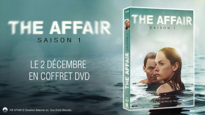 The Affair saison 1 DVD