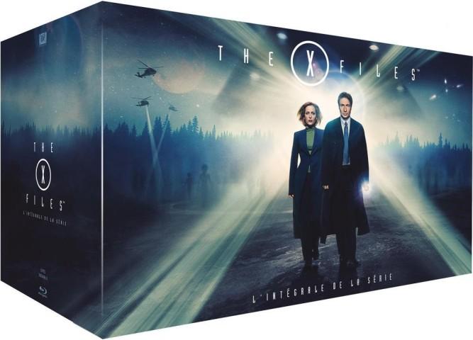 X-Files intégrale Blu-ray