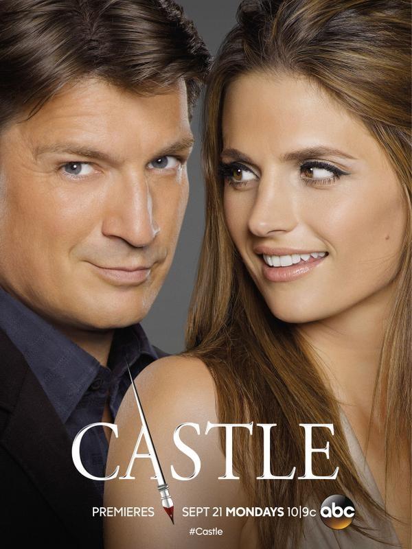 Castle saison 8 affiche