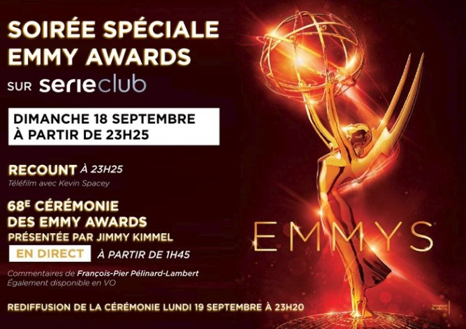 Emmys diffusion française