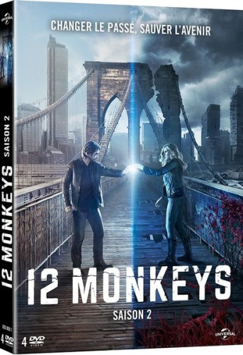 12 monkeys saison 2 dvd