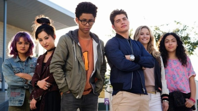 Marvel's Runaways - photo promo acteurs et actrices