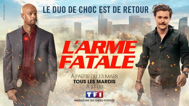 L'Arme fatale saison 2 TF1