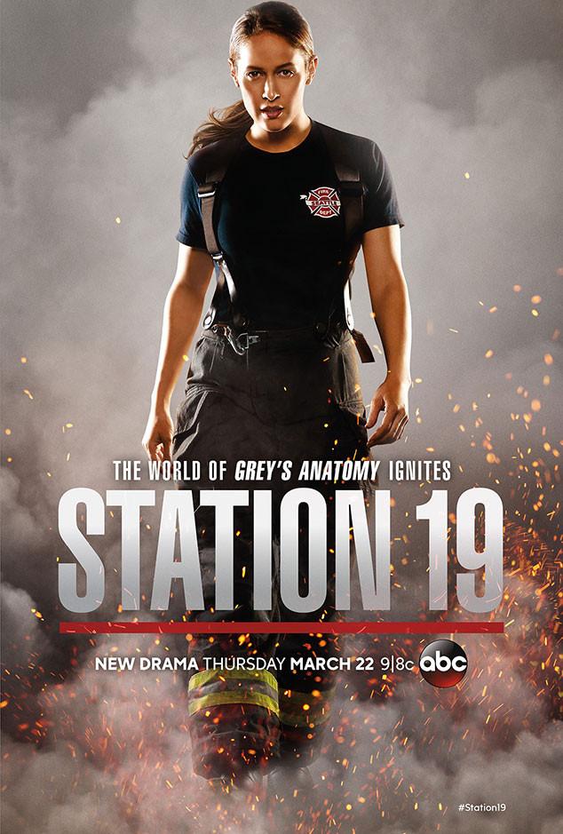 Affiche série Station 19