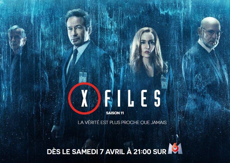 X-Files saison 11 M6
